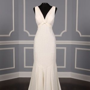 Nicole Miller Bianca Beaded Sexy Wedding Dress